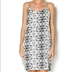 Anthropologie Everly Leaf Tank Dress Size Small